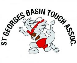 St Georges Basin Touch Football Logo